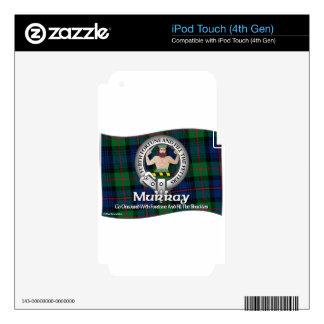 Clan de Murray iPod Touch 4G Calcomanías