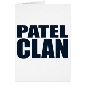 Clan de Patel Tarjeta