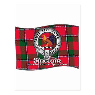 Clan de Sinclair Tarjeta Postal