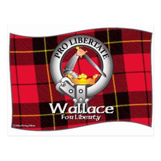 Clan de Wallace Tarjetas Postales