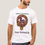 Clan Donald/ MacDonald of Glencoe T-Shirt