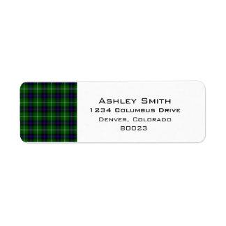 Clan Donald Macdonald Tartan Label