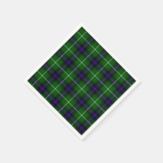 Clan Donald Macdonald Tartan Paper Napkin