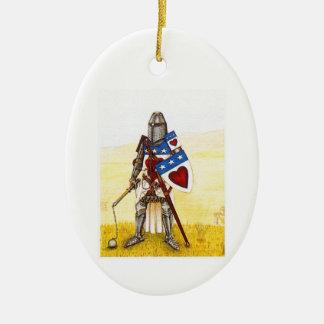 Clan Douglas Archie Oval Oranment Christmas Ornaments