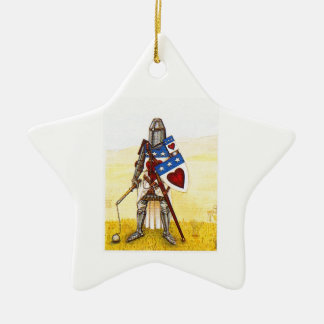 Clan Douglas Archie Star Oranment Christmas Ornament