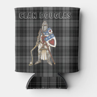 Clan Douglas Can Cover/Cooler (Add Name to Back)Gr Can Cooler