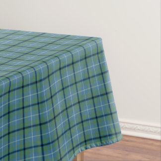 Clan Douglas Light Blue Ancient Scottish Tartan Tablecloth