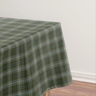 Clan Douglas Loden Green Reproduction Tartan Tablecloth