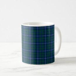 Clan Douglas Modern Tartan Coffee Mug