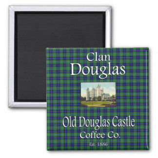 Clan Douglas Old Douglas Castle Coffee Co. Magnet