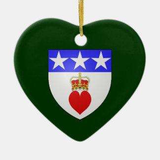 Clan Douglas Oranment Heart Christmas Tree Ornaments