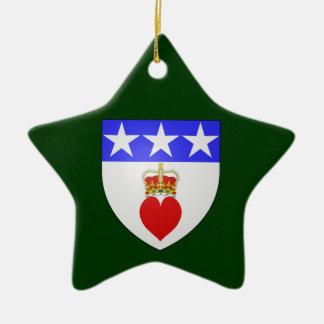 Clan Douglas Oranment Star Ornament
