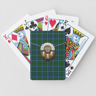 Clan Douglas Tartan And Sporran Bicycle Playing Cards