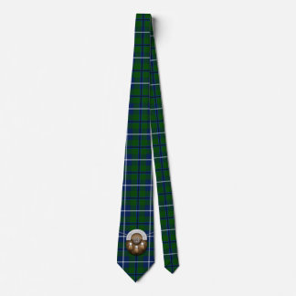 Clan Douglas Tartan And Sporran Neck Tie