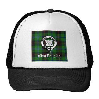 Clan Douglas Tartan Crest Trucker Hat