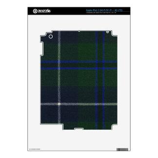 Clan Douglas Tartan Decal For iPad 3