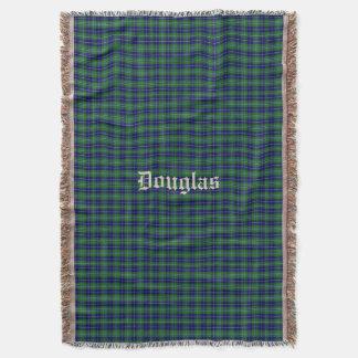 Clan Douglas Tartan Plaid Custom Throw Blanket
