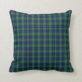 Clan Douglas Tartan Plaid Pillow