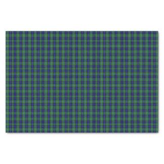 Clan Douglas Tartan Plaid Tissue Paper