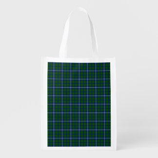 Clan Douglas Tartan Reusable Grocery Bag