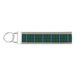 Clan Douglas Tartan Wrist Keychain