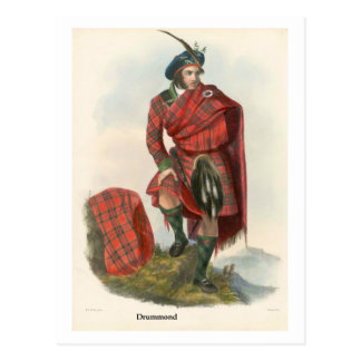 Clan Drummond Post Cards