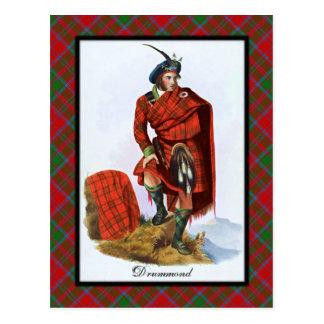Clan Drummond Scottish Dreams Postcard