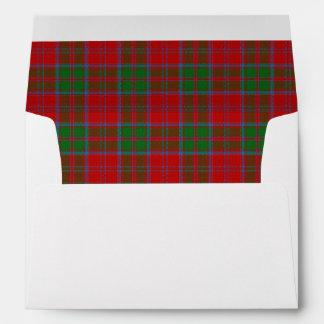 Clan Drummond Tartan Scottish Dreams Envelopes