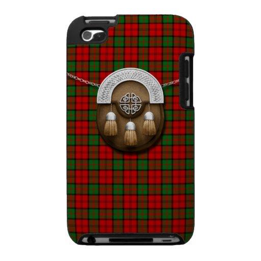 Clan Dunbar Tartan And Sporran iPod Touch Case