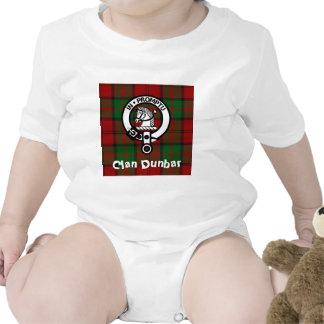Clan Dunbar Tartan & Crest Badge Bodysuit
