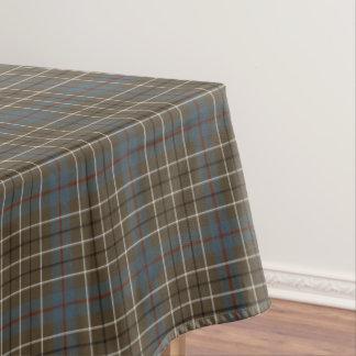 Clan Duncan Brown Weathered Scottish Tartan Tablecloth