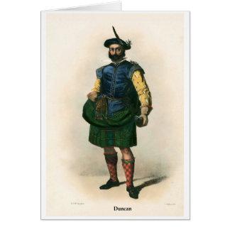 Clan Duncan Card