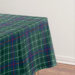 Clan Duncan Green and Blue Scottish Tartan Tablecloth