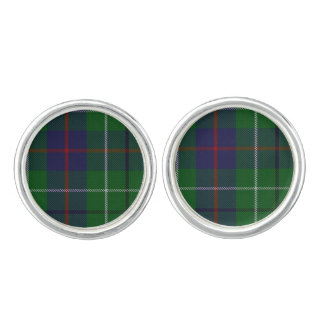Clan Duncan Plaid Cuff Links