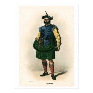 Clan Duncan Postcard