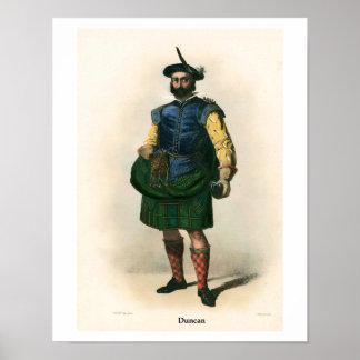 Clan Duncan Poster