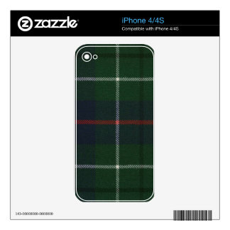 Clan Duncan Tartan iPhone 4 Decals