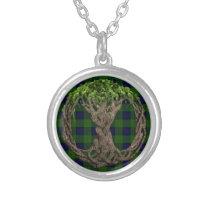 Clan Dundas Tartan And Celtic Tree Of Life