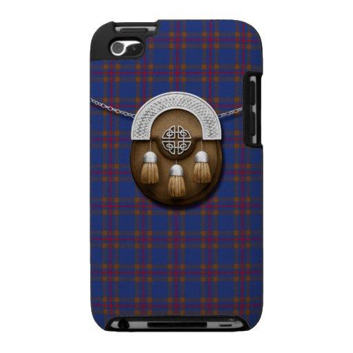 Clan Elliot Tartan And Sporran iPod Touch 4g Case