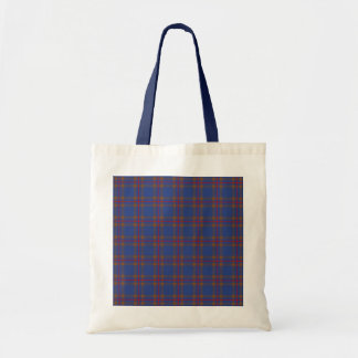Clan Elliot Tartan Budget Tote Bag