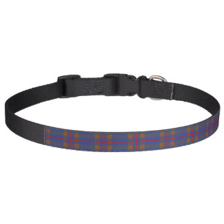 Clan Elliot Tartan Pet Collar