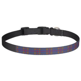 Clan Elliot Tartan Pet Collar