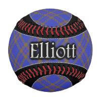 Clan Elliott Scottish Dream Tartan Baseball