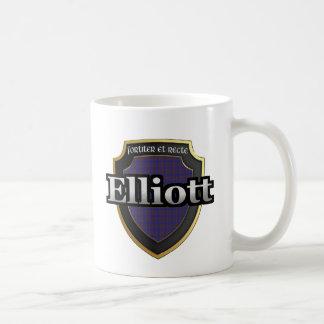 Clan Elliott Scottish Dynasty Tartan Mugs Cups