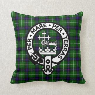 Clan escocés Donald y escudo Almohadas