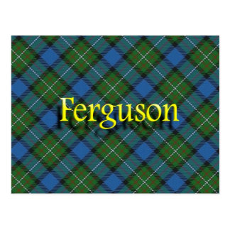 Clan escocés Ferguson Postal