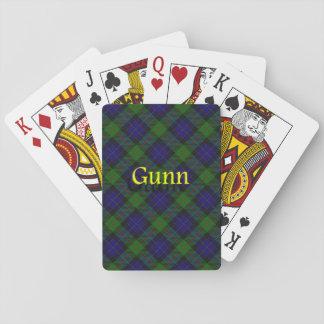 Clan escocés Gunn Baraja De Póquer