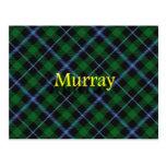 Clan escocés Murray Postal