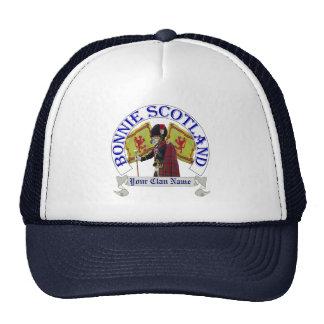 Clan escocés patriótico divertido gorras