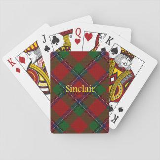 Clan escocés Sinclair Cartas De Póquer
